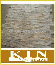 Fangshan beige quartzite & slate stackstone