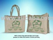 Cotton Calico Bags - Screen Printed