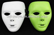 HOT SALE PVC white Halloween Masks for men 2013
