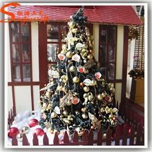 2015 china cheap styrofoam cone christmas tree spiral christmas tree artificial christmas tree snowing