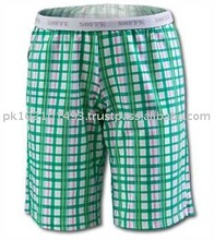 Bermuda Shorts made by 100% Cotton / PC blended / Lycra / Polyester