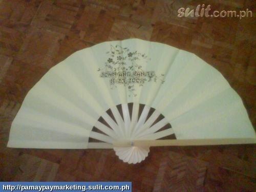 Pamaypay , Abanico, Bamboo Fan