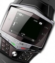 "World's First Wrist Watch Mobile Phone with 2"" Wide Screen"