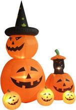 Air blown inflatables christmas and halloween pumpkin