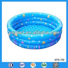 Eco-friendly small inflatable pool, custom small inflatable splash and play pool