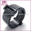 factory supply stainless steel mens movable ring