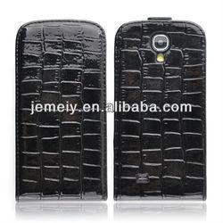 Crocodile Luxury Flip Leather Case for Samsung Galaxy S4 i9500