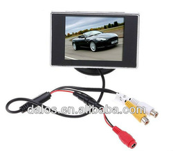 2013 newest car rearview LCD monitor / 3.5 TFT car monitor