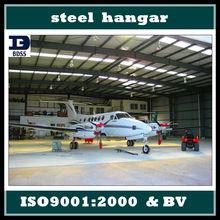 hot dip galvanized steel structure hangar