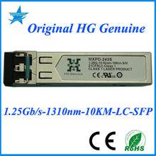 MXPD-243S HG Genuine 1.25G-1310nm-10km OPTICAL TRANSCEIVER SFP FIBER MODULE gsm modems