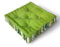 Fábrica por atacado do jardim ao ar livre tela assento da cadeira almofada almofada impermeável quadrados de yiwu china- 40*40*8cm