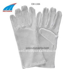 Cotton Nylon Fabric Gloves, Cotton Gloves, Cotton Hot Mill Gloves