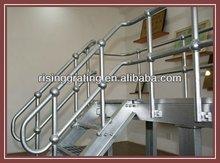 metal grate steps