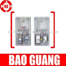 single-phase 6 gang prepaid meter box