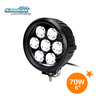 "6"" 70w led driving light atv offroad cree car led light bulbs"