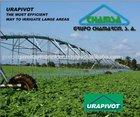 Spain 7 Spans Center Pivot Irrigation Equipment