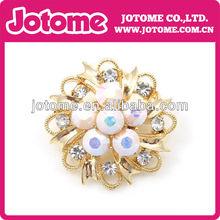 crystal costume brooch jewelry/antique weding rhinestone brooch