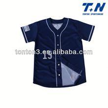 2015 custom sublimation printing baseball jersey