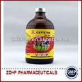 Antibotic ação prolongada oxitetraciclina injeção( 10ml ampola frasco medicina veterinária)