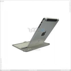 2013 amazon hot sell Bluetooth Keyboard Aluminum Protector Case For iPad Mini P-iPDMINIBTHKB001