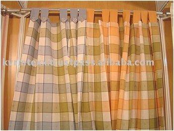 decorative check curtain tassels