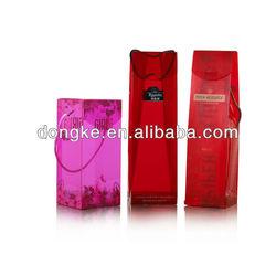 2013 New style plastic wine boxes