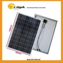 SYK90-18P solar cell module 12v 90w poly solar pv panel