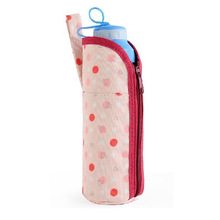 Cute 300D polyester water bottle bags