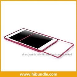 Aluminium Metal Bumper Case for iPad Mini,High Quality,10 colors are available