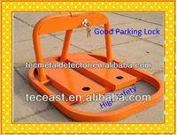 O-type Steel manual car Parking lock