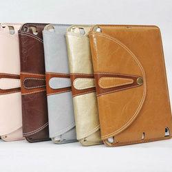 handbag style stand rotating case for ipad mini