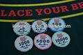 custom cerâmica poker chips