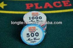 Custom Ceramic Poker chips