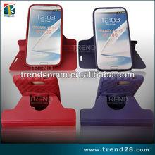 detachable 360 degree rotate tpu case for samsung galaxy note 2 n7100