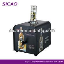 One Bottles 1.8L Vodka liquor Chiller , Ice Cold Shot Machine For Dispensing Alcohol