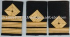Uniform Trimming Shoulder Strap Bord Epaullettes Embroidred Insignia Badges Rank Mark Chevron
