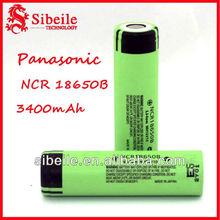original panasonic battery/ panasonic 18650 3400mah battery/ 18650 mod battery