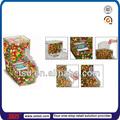 Tsd-a804 transparente de acrílico de alimentos a granel bin/café bean dispensador de/a granel de alimentación de contenedores para la venta