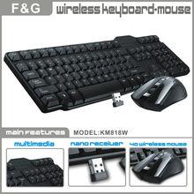 2013 new 2.4G wireless mouse keyboard