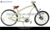 HH-C2602 yellow adult chopper aluminium city bike with factory price