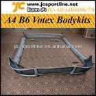 Votex Style A4 B6 PU Bodykit,Bumper Bodykits For Audi