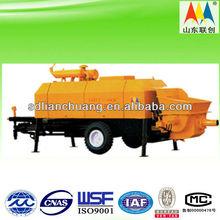 portable concrete pump HBTS6013-112DS