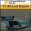 TT R8 Front bumper ,rear bumper ,side skirts ,Full Bodykits for Audi