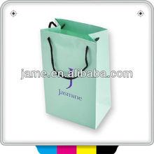 popular handbags custom printed paper bags no minimum