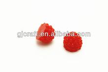 DIY PVC Raspberry fake food Fruits big 1/2 raspberry
