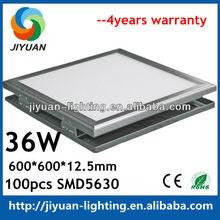 2012 hot sale 36w best price led panel light /led panel light 60cm x 60cm