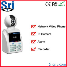 "Sricam SP001 New 3.5"" LCD Screen Plug And Play P2P Wifi Wireless IP Camera Support U Disk Record Free Video Call"