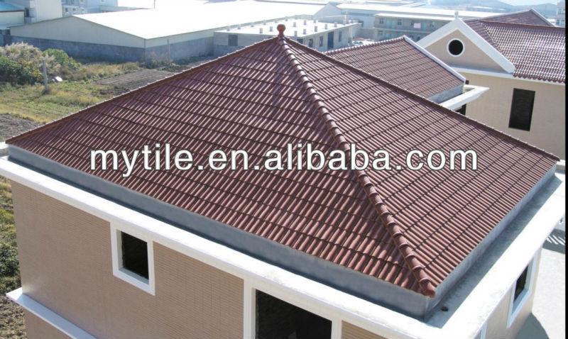 Monier roofing tiles villa roof tiles ceramic roof tile view monier roofing tiles minyuan - Houses with ceramic tile roofing ...