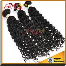 14-36 inchs for sale Natual Ripple Hair Kinky Curly Virgin Peruvian Human Hair