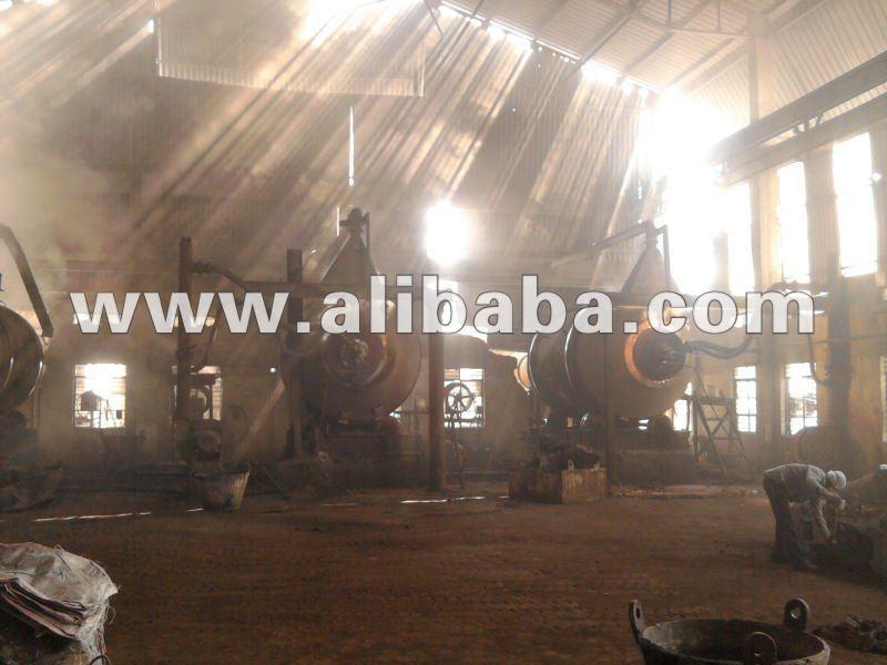 Horno rotatorio horno para el plomo de fundición